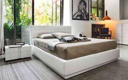 Dormitorios de estilo  por ESPACIO FRAYMA