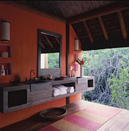 Baños de estilo  por Toninho Noronha Arquitetura