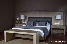 modern Bedroom by MARIANGEL COGHLAN