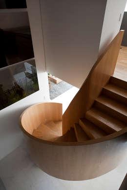 Loft Itaim: Corredores e halls de entrada  por Toninho Noronha Arquitetura
