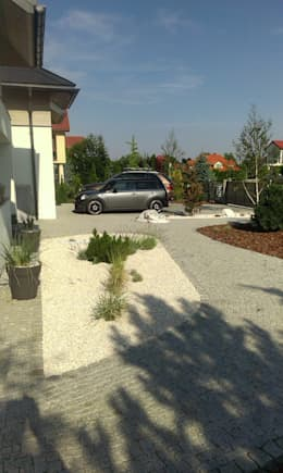 Jardines de estilo moderno por BioArt Ogrody, Architektura Krajobrazu