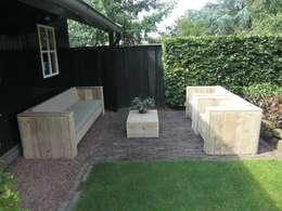 Jardines de estilo  por Exklusiv Dutch Design