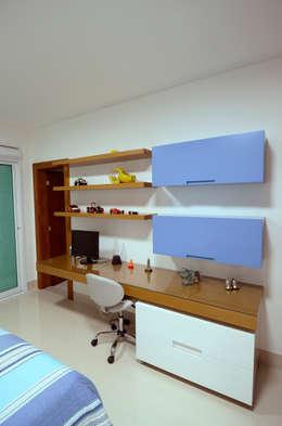 Recámaras infantiles de estilo moderno por Cabral Arquitetura Ltda.