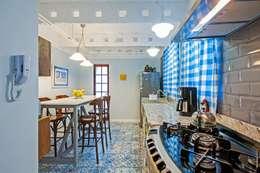 rustic Kitchen by Studio Boscardin.Corsi Arquitetura