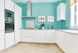 Projekty,  Kuchnia zaprojektowane przez StudioBMK
