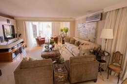 غرفة المعيشة تنفيذ Piloni Arquitetura