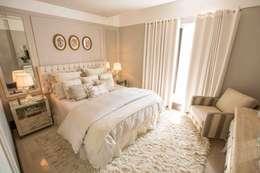 غرفة نوم تنفيذ Piloni Arquitetura