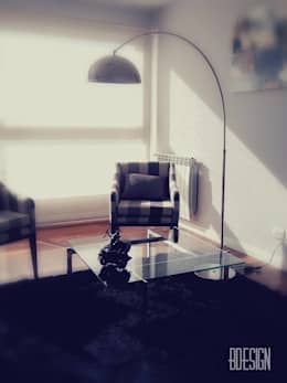 Obra terminada: Livings de estilo minimalista por Estudio BDesign