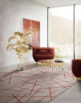 Projekty,  Salon zaprojektowane przez Art D.D.C
