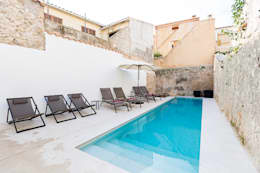 modern Zwembad door ISLABAU constructora