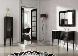 Baños de estilo moderno por Paco Escrivá Muebles