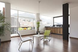 غرفة المعيشة تنفيذ ODA - Oficina de Diseño y Arquitectura