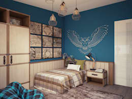 industrial Nursery/kid's room by homify