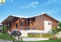Casas em madeira :   por CASA & CAMPO - Casas pré-fabricadas em madeiras