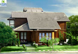 by CASA & CAMPO - Casas pré-fabricadas em madeiras