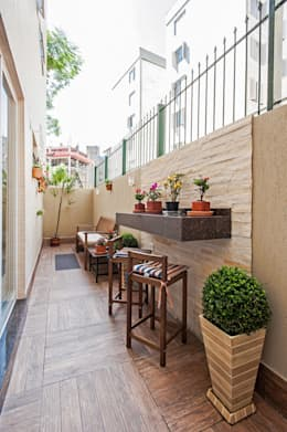 Terrazas  de estilo  por Patrícia Azoni Arquitetura + Arte & Design