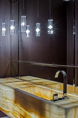 APARTAMENTO MS: Banheiros clássicos por Studio Boscardin.Corsi Arquitetura