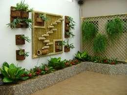 Jardines de invierno de estilo rústico por MC3 Arquitetura . Paisagismo . Interiores
