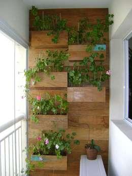 Jardines de estilo rústico por MC3 Arquitetura . Paisagismo . Interiores