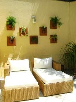 Jardines de invierno de estilo moderno por MC3 Arquitetura . Paisagismo . Interiores