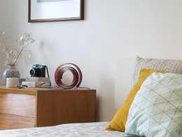 غرفة نوم تنفيذ HR Design Studio
