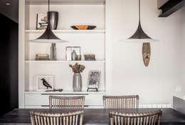 Adela Cabré: eklektik tarz tarz Yemek Odası