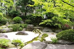 Jardin de style de style Asiatique par 庭園空間ラボ teienkuukan Labo