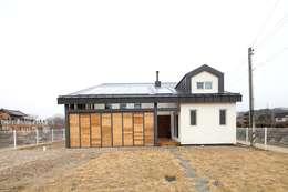 moderne Huizen door 위드하임