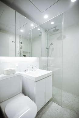 scandinavian Bathroom by 샐러드보울 디자인 스튜디오