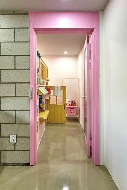 제이앤예림design: endüstriyel tarz tarz Çocuk Odası