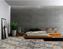 """""""VENEZIANA""""  pavimentazione: Camera da letto in stile in stile Moderno di BIANCOFIORE"""