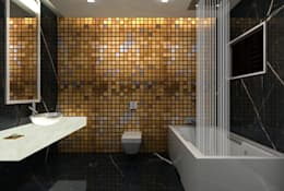 modern Bathroom by De Panache  - Interior Architects