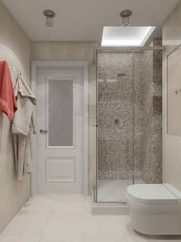 Baños de estilo clásico por Студия дизайна интерьера Маши Марченко