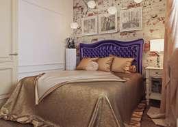 Просторная квартира на ул. Дыбенко: Спальни в . Автор – Студия дизайна интерьера Маши Марченко