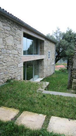 landelijke Huizen door Ezcurra e Ouzande arquitectura