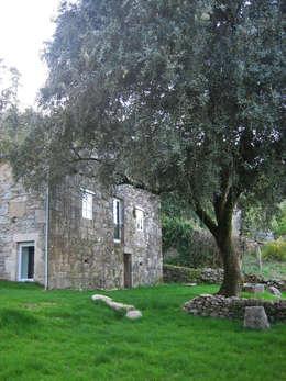 Casas de estilo rural por Ezcurra e Ouzande arquitectura