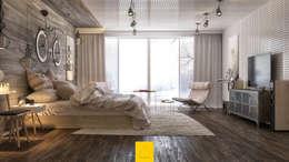 Dormitorios de estilo minimalista por Penintdesign İç Mimarlık