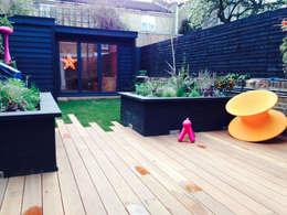 modern Garden by Garden2Office