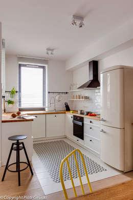 Cocinas de estilo ecléctico por Loft Factory