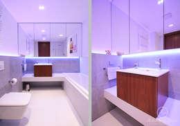 NAVY: styl , w kategorii Łazienka zaprojektowany przez Kołodziej & Szmyt Projektowanie wnętrz