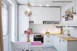 Квартира 45 м.кв.: Кухни в . Автор – Tatyana Pichugina Design