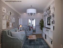 Квартира, 29 м.кв.: Гостиная в . Автор – Tatyana Pichugina Design