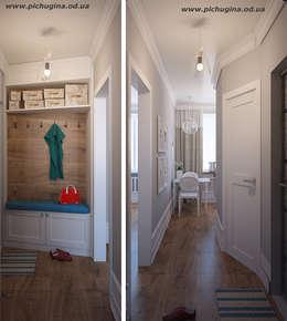 Квартира, 29 м.кв.: Коридор и прихожая в . Автор – Tatyana Pichugina Design