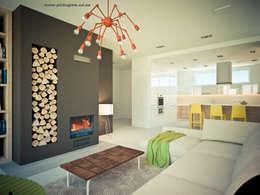 Дом.: Гостиная в . Автор – Tatyana Pichugina Design
