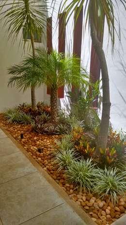 Jardinera en Vestíbulo de acceso - final:  de estilo  por EcoEntorno Paisajismo Urbano