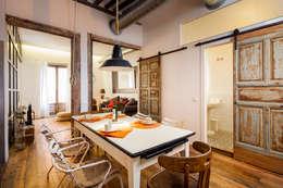 Comedores de estilo rústico por The Sibarist Property & Homes
