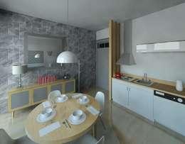 Salon de style de style Moderne par Marta d'Alte Arquitetura