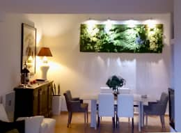 Salones para eventos de estilo  por Muros Frescos