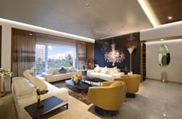 Residence: modern Living room by Archtype