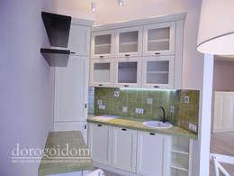 Апартаменты в Darsan. г. Ялта: Кухни в . Автор – Дорогой Дом